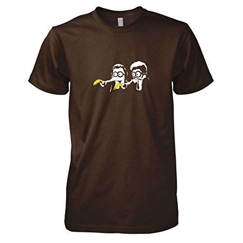 Texlab - Banana Pulp - Herren T-Shirt, Größe XXL, braun