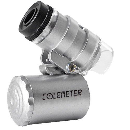 FACILLA COLEMETER Microscopio tascabile a LED UV ultravioletto lampada 60x 60F [dispositivi elettronici]