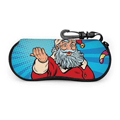 Giving Gifts to Santa Claus Case for Eyegses Women Colorful Gses Case Light Portable Neoprene Zipper Soft Case Case for Gses for Men