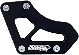 Outlaw Racing Chain Guide Slider Guard- Rear Black