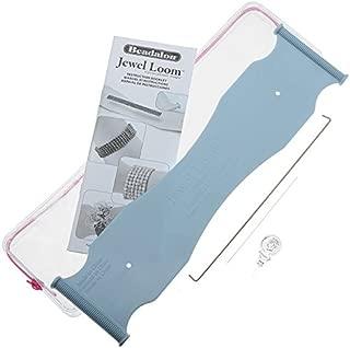 Beadalon Jewel Loom Kit: Beading Loom, Needle, Threader, Pouch
