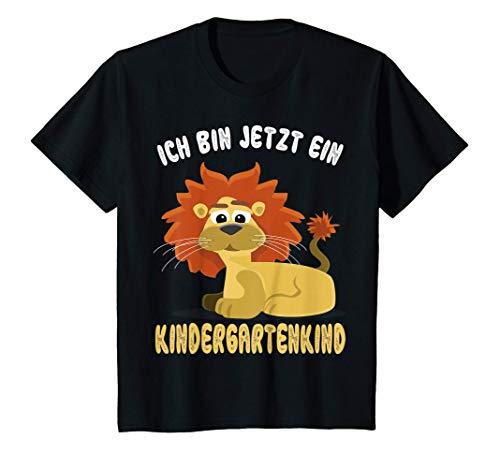 Kinder Kindergartenkind Löwe Katze Kindergarten Start 2021 Geschenk T-Shirt