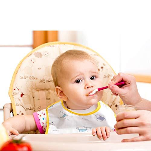 Setaria Viridis スーパービブ 赤ちゃん 食事エプロン ソフトスタイ ベビー防水よ