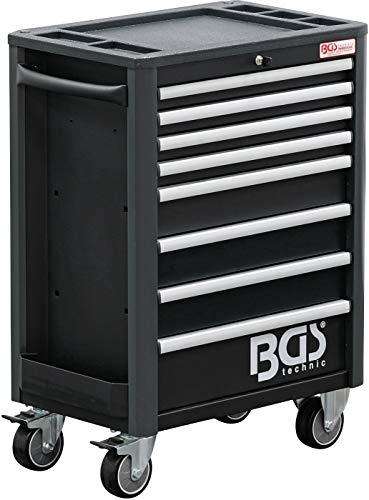 BGS 4111   Werkstattwagen   8 Schubladen   leer   abschließbar   massives Metall