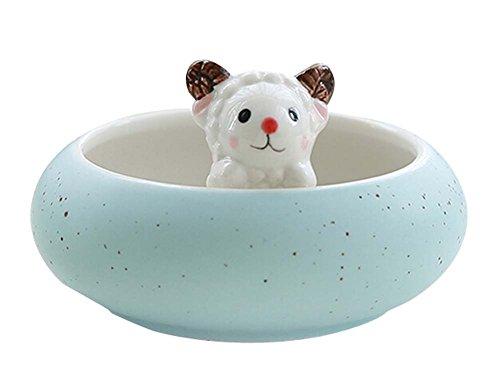 beau agneau Porcelaine Pot/pot de fleur pour maison ou bureau décoration