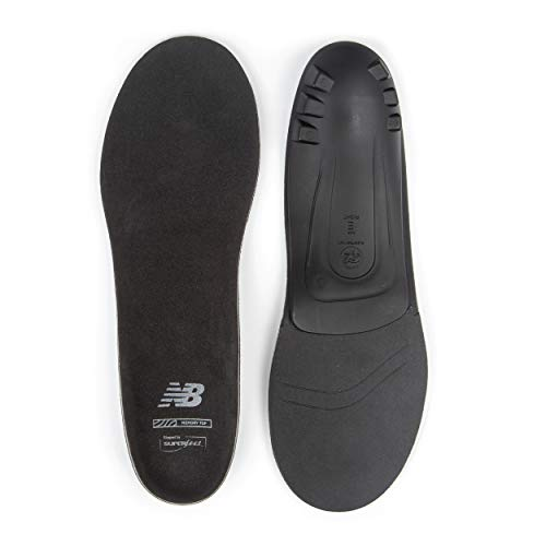 New Balance Casual Memory Top Insole, Black, Medium/8.5-10 Wmns/7.5-9 Mens