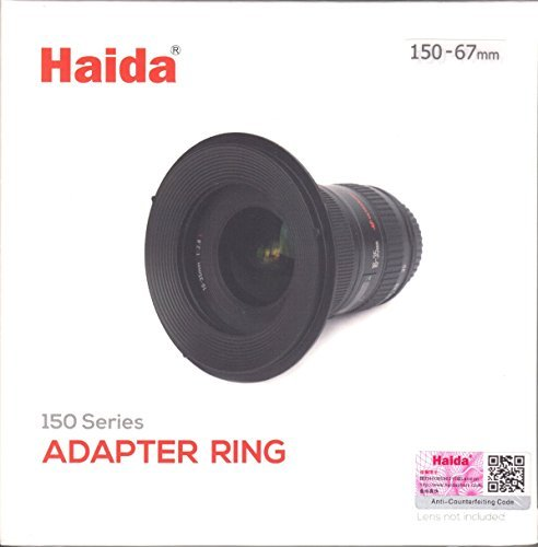 Haida 67mm Metal Adapter Ring for 150 Series Insert Filter Holder 67