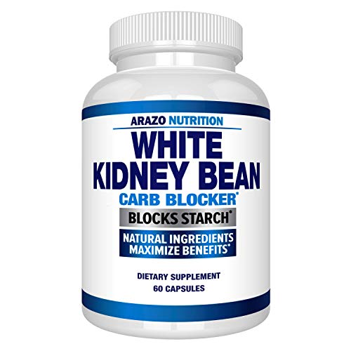 White Kidney Bean Extract - 100% Pure Carb Blocker and Fat Absorber for Weight Support - Intercept Carbs – Arazo Nutrition