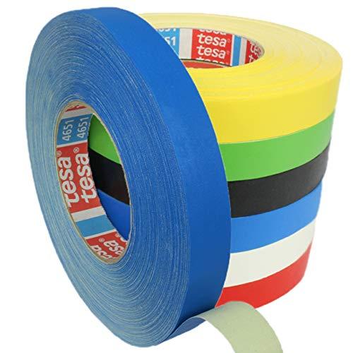 Tesa 4651 Premium Gewebeband verschiedene Breiten und Farben wählbar/blau 15 mm x 50 m