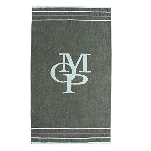 Marc O Polo Strandlaken Emblem Olive ca. 100x180 cm