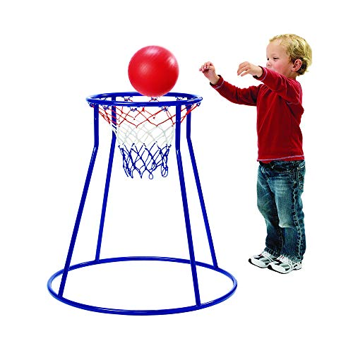 Excellerations Oversized Rim, Easy Score Basketball Hoop Set for Toddlers and Kids Toy, Model Number: HOOP3