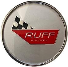 RUFF Racing Wheels Corvette 776C02+MB-207 RR954CORS Silver Center Cap
