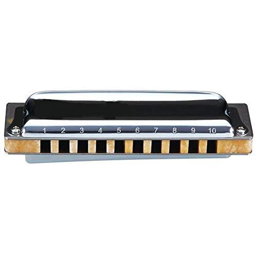 JUN-STORE SENMIAO-TH M20 Armónica diatónica de 10 Agujeros 20 Notas Blues Harp Clave de C D Profesional Instrumentos Musicales (Color : Key of Low F)