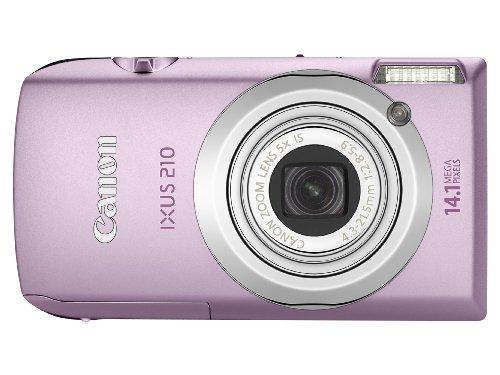 Canon IXUS 210 Digitalkamera (14 MP, 5-fach opt. Zoom, 8,9cm (3,5 Zoll) Full-Touchscreen, bildstabilisiert) pink