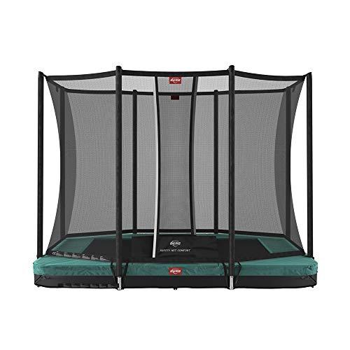 BERG Trampoline Inground Favorit rectangular 280 with Safety Enclosure Net Comfort | Trampoline for kids, Premium Trampoline, Kids trampoline, Longer Lifetime Warrenty, Goldspring Springs