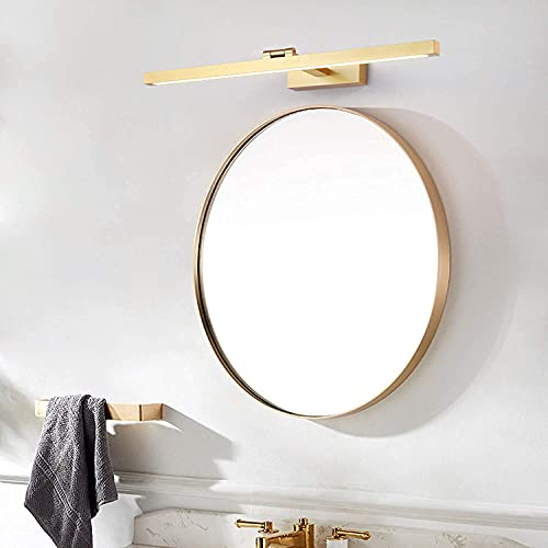 1 6W LED Luz de Espejo de baño,Espejo Vintage luz Delantera IP44 Vanity Mirror Lámpara Maquillaje Luz Tocador Dormitorio Dormitorio Dormitorio Espejo Iluminación,4500k (Color : 70cm14w)