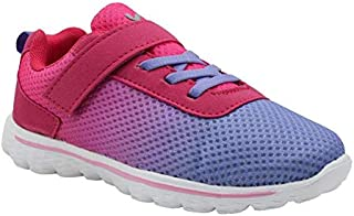 KazarMax Kid's Pink-Purple Sports Shoes for Boys/Girls (Size : 36) [KF003] (Made in India) 2.5 Years To 9 Years