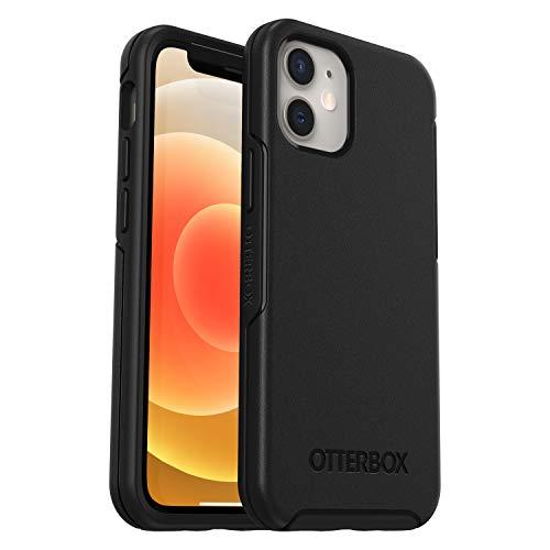 OtterBox para Apple iPhone 12 mini, Funda Anticaídas Elegante, Symmetry Series, Negro