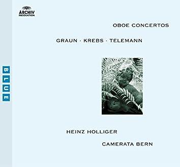 Graun / Krebs / Telemann: Oboe Concertos