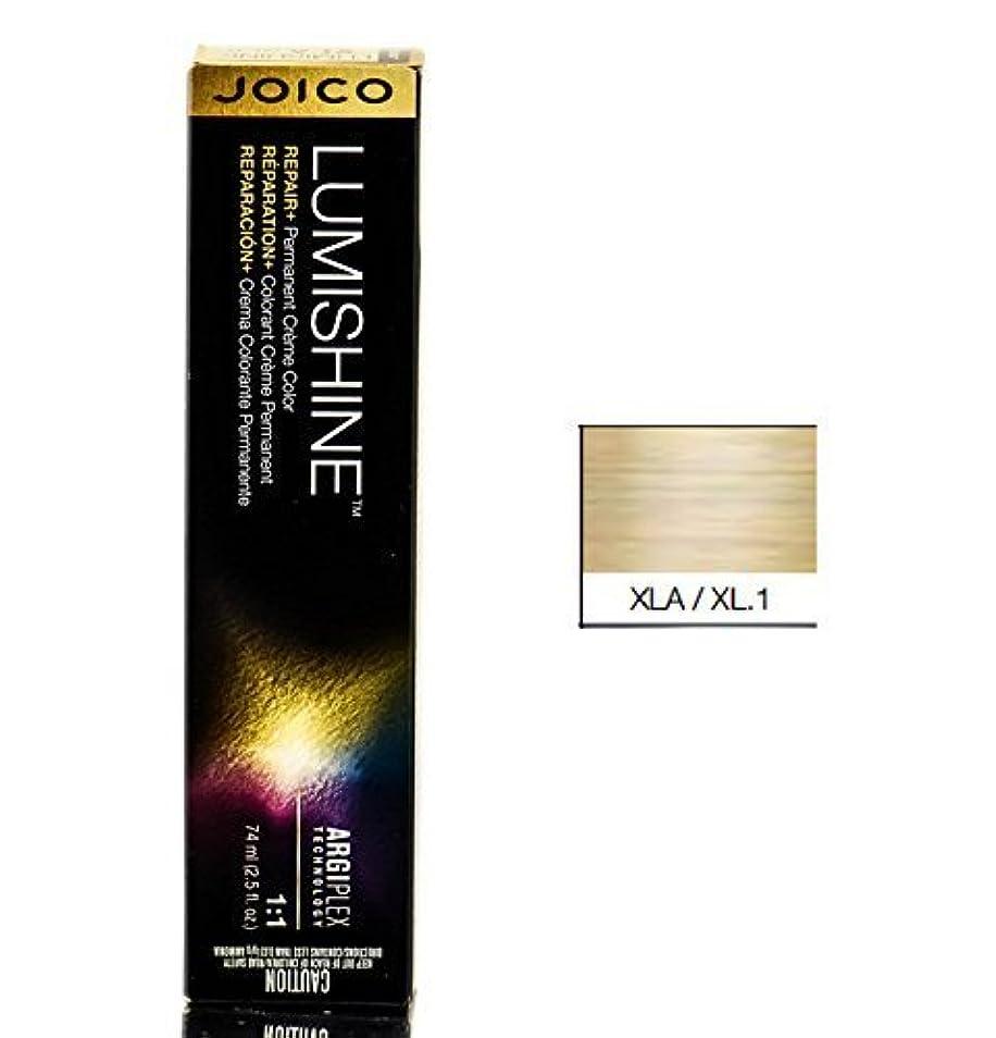 フレアもつれ肝Joico Lumishine永久クリーム色、XLA/xl.1、 2.5オンス