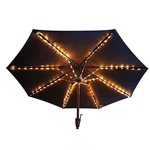 'N/A' Luces De Paraguas De Patio, 8 Modo Led Paraguas De Paraguas, Parasol Inalámbrico Luces De Cadena con Control Inteligente, A Prueba De Agua con Batería