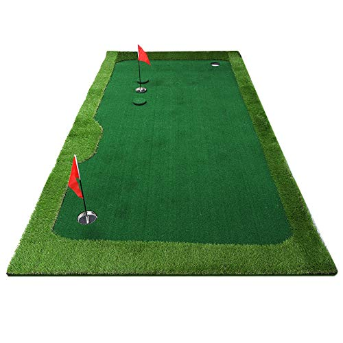Purchase VGEBY1 Golf Simulator Training Mat, Indoor Golf Putting Practicing Putter for Golf Beginner...