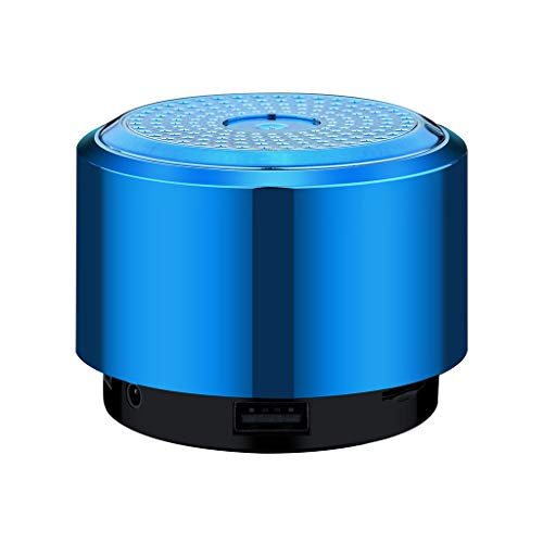 OPAKY Mini Bluetooth Speaker USB Led Light Wireless Portable Music Box Subwoofer Small für iPhone, Samsung usw.