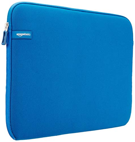 """Amazon Basics NC1303154F - Funda para ordenadores portátiles (15.6""""), color azul claro"""