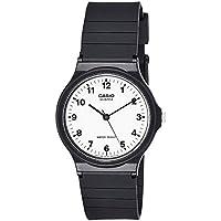Casio Reloj Analógico para Hombre de Cuarzo con Correa en Resina MQ-24-7BLLGF