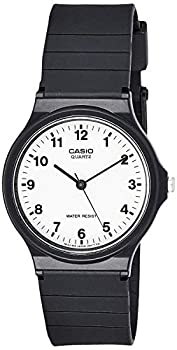 Casio Men s Quartz Resin Casual Watch Color Black  Model  MQ24-7B