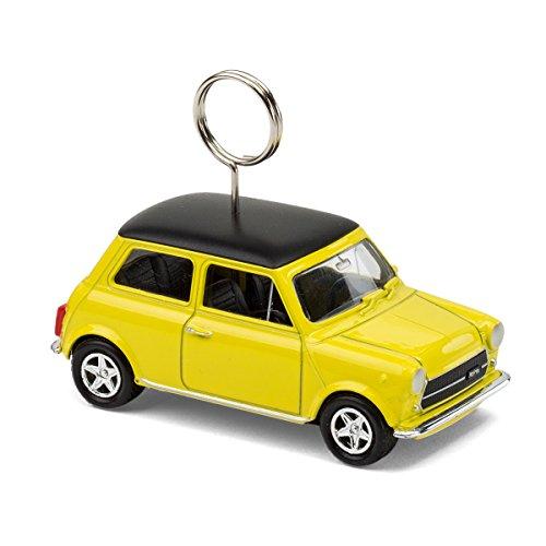 corpus delicti :: Mini Cooper Classic – Karten- und Fotohalter auf Rädern (gelb) (20.3Cg)