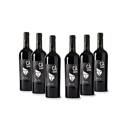 Trerè Vino Rosso Sangiovese IGT Pregiato 6 Bottiglie Regalo Donna Uomo Compleanno Idee Regalo Anniversario Matrimonio Servire Da Refrigeratore Vino Calici Da Vino Bicchieri Vino Glacette Decanter
