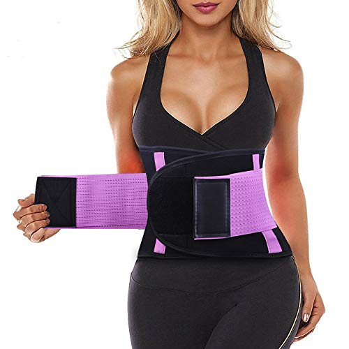 SIHOHAN Waist Trainer Belt Back Brace Cincher Trimmer Sports Slimming Body...