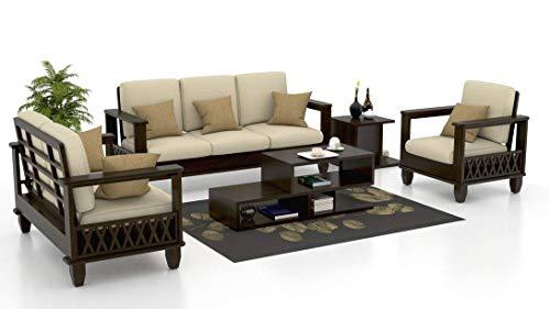 Keon Furniture Sheesham Wood 6 Seater Sofa Set Furniture 32