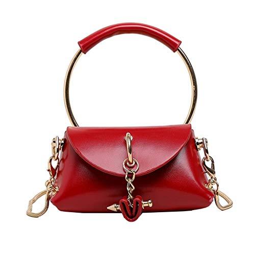 LIMITA Damenhandtaschen 2019 New Trend Single Schultertaschen Mini Crossbody Taschen Taschen Einfache einfarbige Umhängetaschen