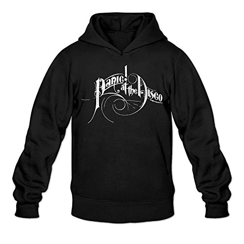 AK79 Men's Hoodies Panic At Logo Disco Size M Black