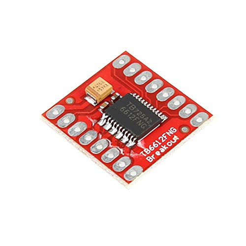 MEXCO TB6612FNG Dual DC Stepper Motor Control Drive Expansion Shield Board Module for Arduino Microcontroller Better than L298N