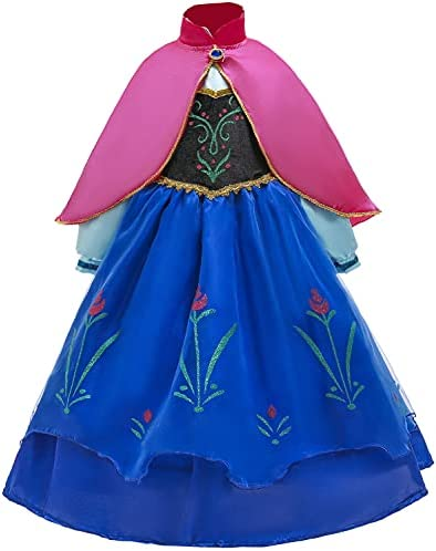 Anime girl princess dress