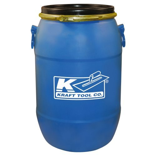 Kraft GG601 15 Gal Mixing Barrel with Lid by Kraft Tool
