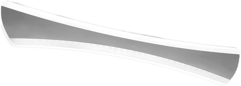 Bad Spiegelleuchten Spiegel Scheinwerfer Nordic Modern Minimalist Bad Wasserdicht Und Anti-fog Fcherfrmige Wandleuchte LED Spiegel Scheinwerfer [Energieklasse A +] (Farbe   Wei-14w 42cm)
