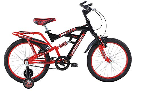 BSA Hacker20 20T Single Speed Cycle Frame (Red)