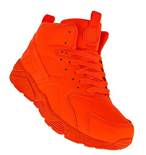 Bootsland 623 Basketballschuhe Sneaker Skater Damen, Schuhgröße:38
