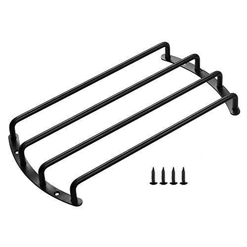 "Bluecell Black Color Metal Car Bar Grille Audio Speaker Subwoofer Grill Grille Cover Protector (10"" 4 Bars)"