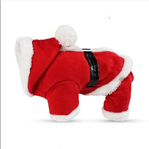 Abcsea Ropa para Mascotas Perros Navidad Alce Disfraz para Perro Navidad M Traje De Perro Navidad Disfraces para Mascotas Navidad Ropa para Mascotas Traje De Navidad Perro