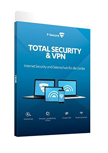 F-Secure Total Security und VPN - 1 Jahr / 3 Geräte
