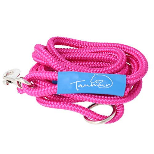 Taumur Grislingurborg - leichte City Hundeleine - pink - Leine für kleine Hunde aus robustem PPM