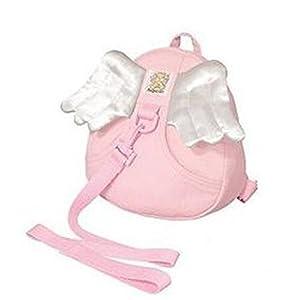 SODIAL (R) arnes de seguridad para nino Mochila con Riendas Arneses para Nino Bebe – angel-rosa