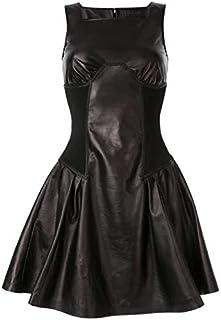 LUST FOR PELLE Mini abito da donna