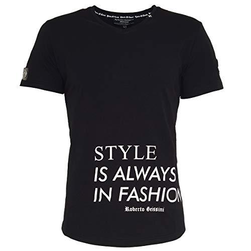 T-Shirt Style Black XXL