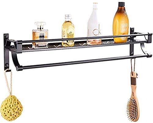 YANGSANJIN kamer-aluminium badkamer plank zuigt wandplank keuken handdoekhouder badkamer ophangsysteem (kleur: 40 cm)